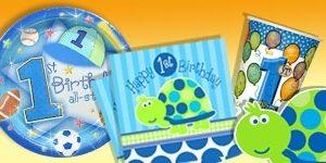 1. Geburtstag Junge + Schildkröte