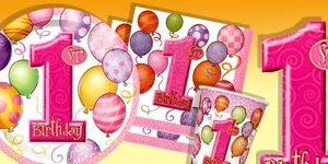 1. Geburtstag Mädchen